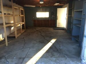 Spacious single car garage/storage available NOW!!!