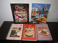Lot of 5 Company's Coming Cook Books