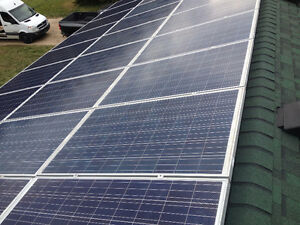 30 Solar Panels with Micro Inverters