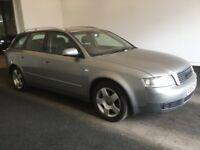 2002 52 Reg AUDI A4 Avant Estate 2.0 SE, Petrol, Manual, 5 Door, Metallic Grey, Tow Bar, Good MOT