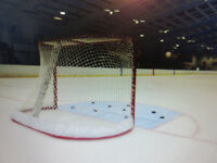 HOCKEY GOALIE(S) WANTED…Work Shifts? Still Looking to Play?