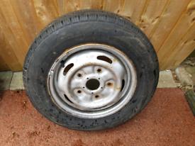 Transit mk6/7 transit wheel and tyre