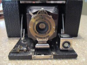 "KODAK ""No.2 FOLDING POCKET BROWNIE"" Antique Camera"