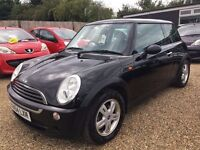 MINI ONE 1.6 2004 IDEAL FIRST CAR CHEAP INSURANCE HPI CLEAR TONS OF SERVICE HISTORY