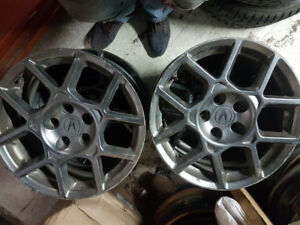 4 MAGS ACURA 17 POUCES , BOLT PATTERN 5/114,3