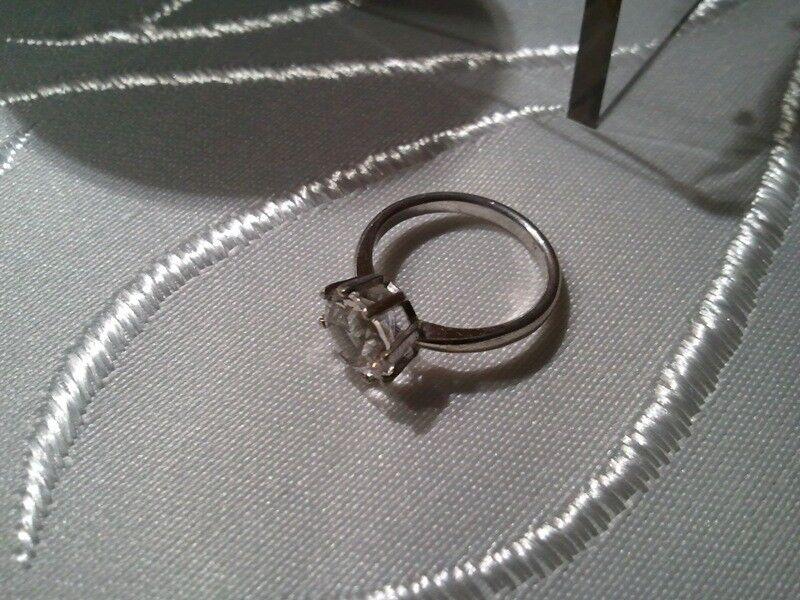 ring mit gro em stein silberring gr 52 16 5 mm silber. Black Bedroom Furniture Sets. Home Design Ideas