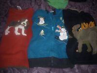 size 5 sweaters/shirts for boys