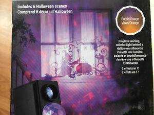 Brand New Halloween Projector Fire and Ice + Silhouette Lights