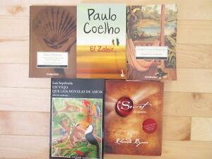 Livres en espagnol variés / Various books in Spanish / Libros Gatineau Ottawa / Gatineau Area image 2