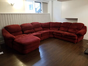 Large Four Piece Sectional Couch - $600