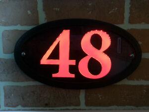 LED HOUSE NUMBER HOME ADDRESS SIGN- LUMA STYLE $49.99