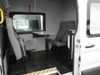 16 reg FORD TRANSIT T350 RWD CREW MESS, MESSING UNIT, WELFARE TOILET VAN 7 SEATS