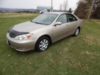 2003 Toyota Camry LE/Great Clean Shape undercoated