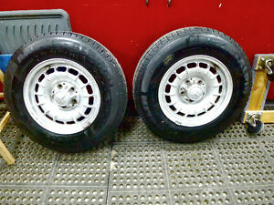 Mercedes Benz Wheels and Snow Tires
