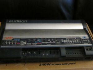 like new audison power amp 4 channel
