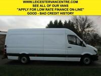 2015 15 MERCEDES-BENZ SPRINTER 2.1 313CDI LWB HIGH ROOF 129BHP NEW SHAPE. LOW 61