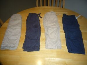 14 Pairs of Toddler Boys Bottoms, Size 2