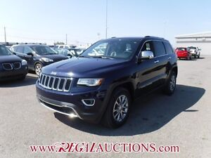 2014 JEEP GRAND CHEROKEE LIMITED 4D UTILITY 4WD 5.7L LIMITED