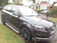 Audi Q7 2008 3.0 TDI Quattro** 7 SEATER ** 12 MONTH MOT ** BLACK LEATHER SEATS NEW TYRES RRP 1200£