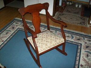 Estate Sale, Antique Rocking Chair.