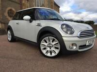 *12 MTHS WARRANTY*2009(59)MINI COOPER 1.6 CAMDEN WITH ONLY 59K FSH*