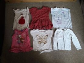 Girls 4-5 and 5 year bundle. 9 items