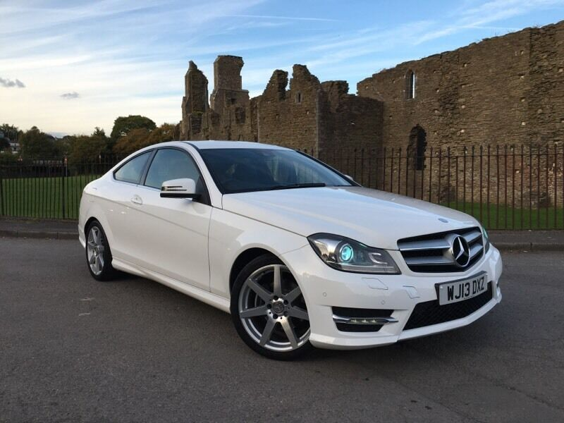 2013 13 reg mercedes benz c class 2 1 c250 cdi amg sport for Mercedes benz swansea