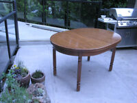 Free Wood Dining Table