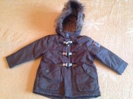 Brand New Boy coat 18-24 months ZARA