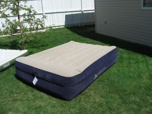 Queen Size Double High Air Mattress