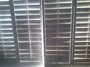 California Wood shutters $ 30 each