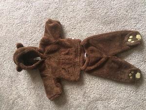 GAP- Bear Snowsuit/winter suit. 3-6m