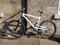 Commencal Super 4 full suspension mountain bike