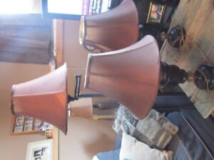 Floor and table lamps for sale