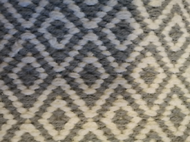 ZARA HOME Geometric Pattern Hand-Woven Rug Brand New