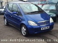 2000 MERCEDES BENZ A CLASS A160 Elegance new MOT REDUCED