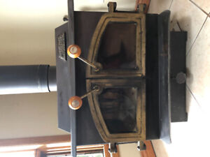 Wood-burning  fire place