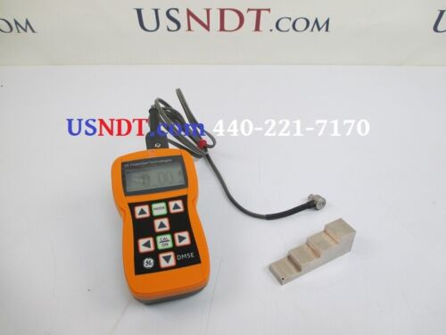 GE Inspection Technologies DM5E Ultrasonic Thickness Gauge NDT Flaw Olympus