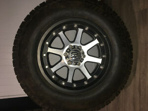 Chevy rims with tires
