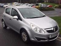 VAUXHALL CORSA 1.3 DIESEL ECOFLEX,HPI CLEAR,1 OWNER,A/C,£30 ROAD TAX,2 KEYS,