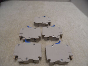 Federal Pioneer Stab-lok NC 15 amp Double Pole Lot of 5 New Kitchener / Waterloo Kitchener Area image 2