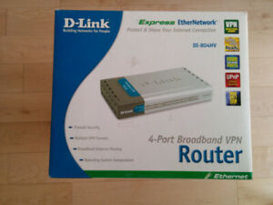 Router D Link - DI-804HV in original packaging - OBO