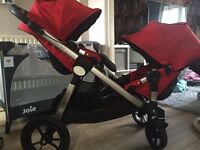 Baby jogger city select double pram