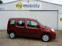 Renault Kangoo Expression Allied Disabled Automatic Wheelchair Scooter Access