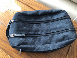 Coach Travel Tote and Double Toiletrie Bag