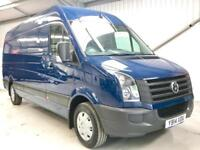 VW VOLKSWAGEN CRAFTER 2.0TDi 136PS CR35 LWB BLUE LONG WHEELBASE BIG VAN 4.0M
