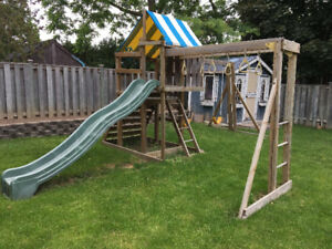Children's Outdoor Play Structure
