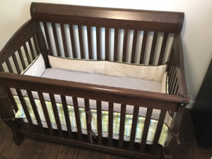 Carima baby crib with mattress