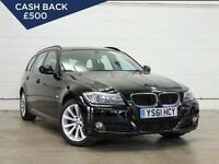 2012 BMW 3 SERIES 318d SE Bluetooth ParkSensors GBP30 Tax