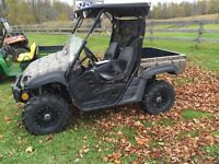2005 Yamaha rhino with plow